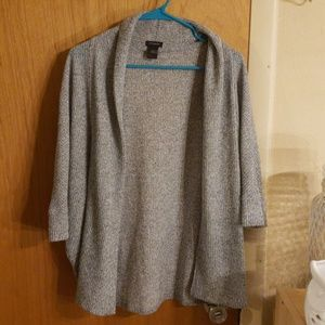 Ann Taylor / knitted sweater shrug